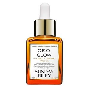 Sunday Riley CEO Glow Vitamin C+Turmeric Face Oil